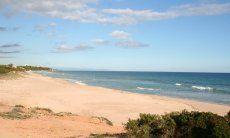 Spiaggia di Marinella davanti la casa