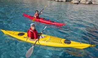 Il mare del golfo di Orosei è metà ambita per escursioni in kayak