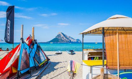 Attività per il tempo libero sulla spiaggia di Porto Taverna