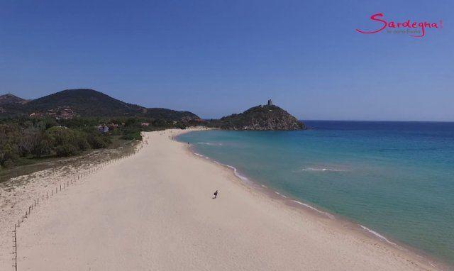 Video Spiaggia zona Chia
