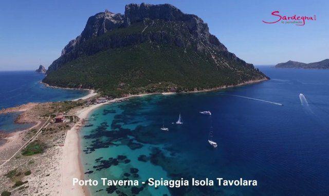 Video Spiaggia Isola Tavolara