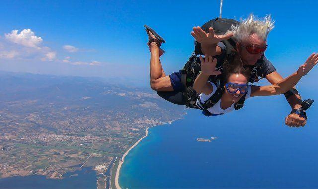 Volo in paracadute - Ogliastra